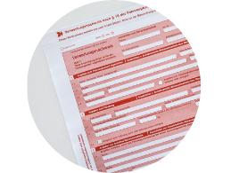 Ein Icon, woraus ersichtlich wird, dass das Formular zum Auto Verschrotten ausgefüllt werden soll.